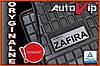 Гумові килимки OPEL ZAFIRA A 5s 1998 - з логотипом