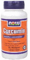 Куркумин, Now Foods, Curcumin, 665 mg, 60 Veggie Caps