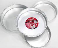 Набор Алюминиевых форм для выпечки . 4 шт А+ 1152