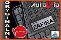 Резиновые коврики OPEL ZAFIRA B 7s 2005-  с лого, фото 1