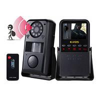 Многофункциональный 4 в 1 автономный охранный видеорегистратор с датчиком движения и сиреной (мод.Kivos KVA01)