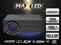 ПРОЕКТОР LED ПРОЕКТОР 1000lm  HDMI 3D XBO!!, фото 1