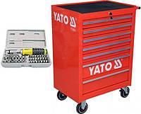Ящик строительный YATO YT-0914 + набор отверток 40 шт, фото 1