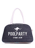 Сумка женская джинсовая PoolParty (коттон pool-16-jeans)