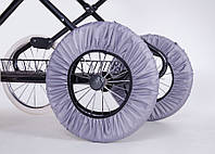Чехлы на колеса детской коляски 0340