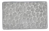 Коврик для ванной, PUKAVIK 50x80см серый