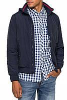 Куртка с капюшоном Wrangler BOMBER синяя, L