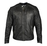 Мужская кожаная куртка DAVID RYAN, RYDER, 2XL