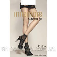 Носки женские Minima 40 miele, nero