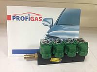 Форсунки Valtek тип 30, 4 цил. 3 Ом, без жиклеров, со штуцерами в коллектор, фото 1