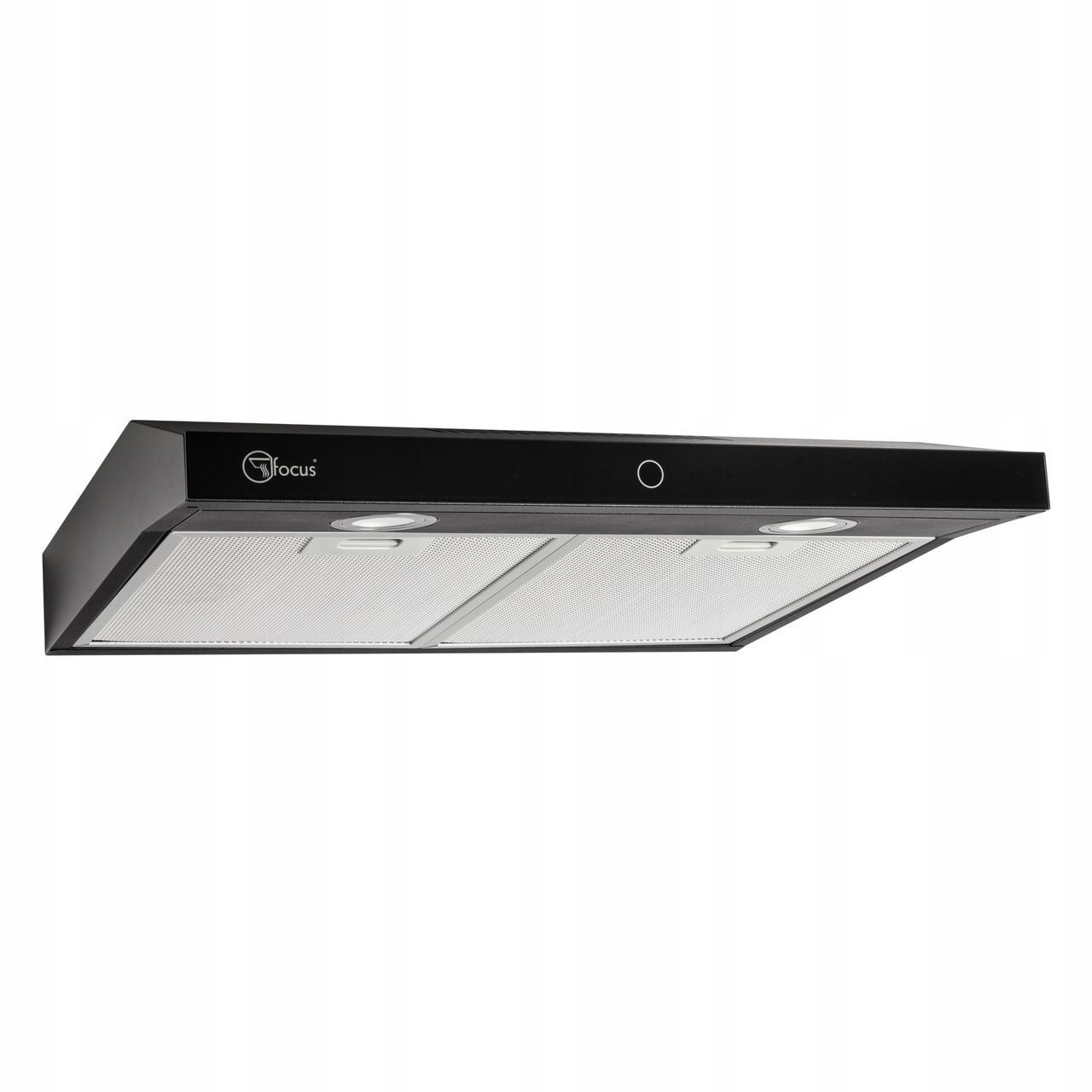 Вытяжка кухонная подвесная 50cm Modo Slim черная