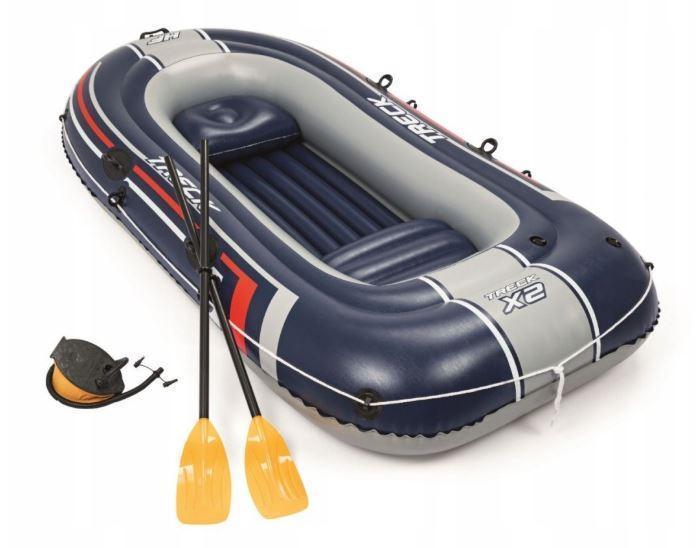 Туристическая надувная лодка Bestway TRECK X2