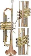 Труба M-tunes Solist 2 Bb профессиональная золотого цвета, фото 1