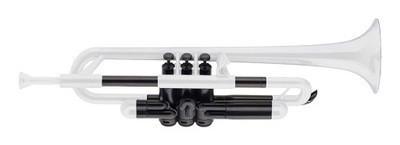 Труба ABS Jiggs pBone pTrumpet Черно-Белая