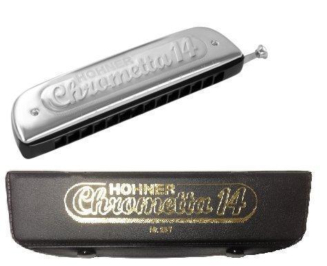 Губная гармошка HOHNER CHROMETTA 14 257/56 C