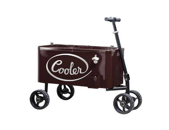 Тележка-холодильник садовая-пляжная CON-ZCW-2834
