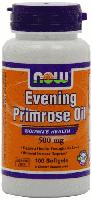 Масло примулы вечерней, Now Foods, Evening Primrose Oil, 500 mg 100 Softgels