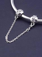 077369 Соединительная цепочка 'Pandora style'  Серебро(925)