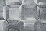 Купить кожаный элитный ковер ручной сборки изкусочков шкуры теленка, фото 3