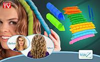 Волшебные спиральные бигуди Hair Wavz (Хейр Вейвз)