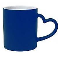 Чашка сублимационная хамелеон LOVE синяя
