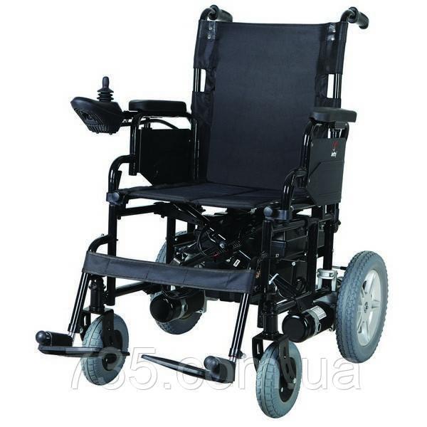 Коляска инвалидная с двигателем сложная JT-100