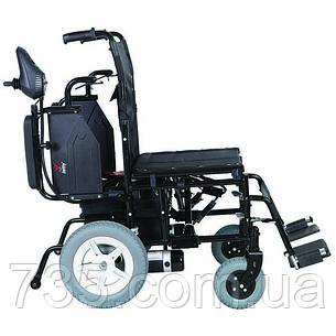 Коляска инвалидная с двигателем сложная JT-100, фото 2
