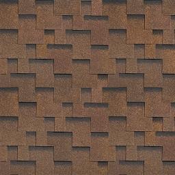 Битумная черепица Шинглас (SHINGLAS) Джайв коричневый