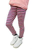 Гамаши Малыш 65 Серый в розовую и белую полоску - 151472