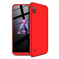 Чехол GKK 360 для Samsung Galaxy A10 2019 / A105 бампер оригинальный Red