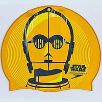 Шапочка для плавания SPEEDO SLOGAN PRINT Star Wars C3PO