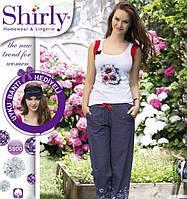 Женский летний комплект с брюками для отдыха