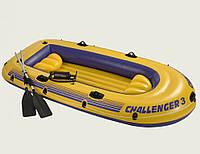 """Надувная лодка Intex """"Challenger 3"""" 295х137х43 (68370)"""