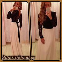 Платье макси Василек, фото 1
