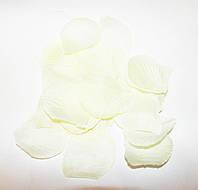 Лепестки роз свадебные (кремовые) 100 шт./уп.