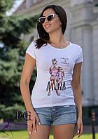 "Модная футболка с рисунком ""Mama of Drama"", фото 1"