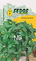 Базилік зелений Рутан (0,2 гр інкрустованих насіння) -SEDOS