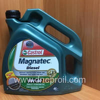 Моторное масло Castrol Magnatec Diesel 5W-40 DPF 4 л.