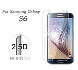 Закаленное защитное стекло для Samsung Galaxy S6 (G920 / G9200 / G9208), фото 3