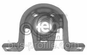 Подвесной подшипник (широкий) на MB Sprinter, VW LT 1996-2006 — Febi Bilstein (Германия) — 02728