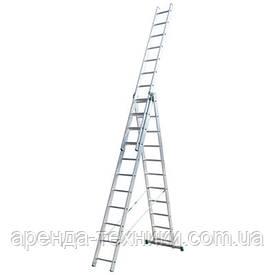 Аренда лестницы Itoss 3*15 (Максимальная высота 11,2м.!)