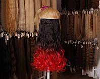 Штучне волосся на заколках, фото 1