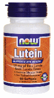 Лютеин Эстерс, Now Foods, Lutein Esters, 10 mg, 60 Softgels