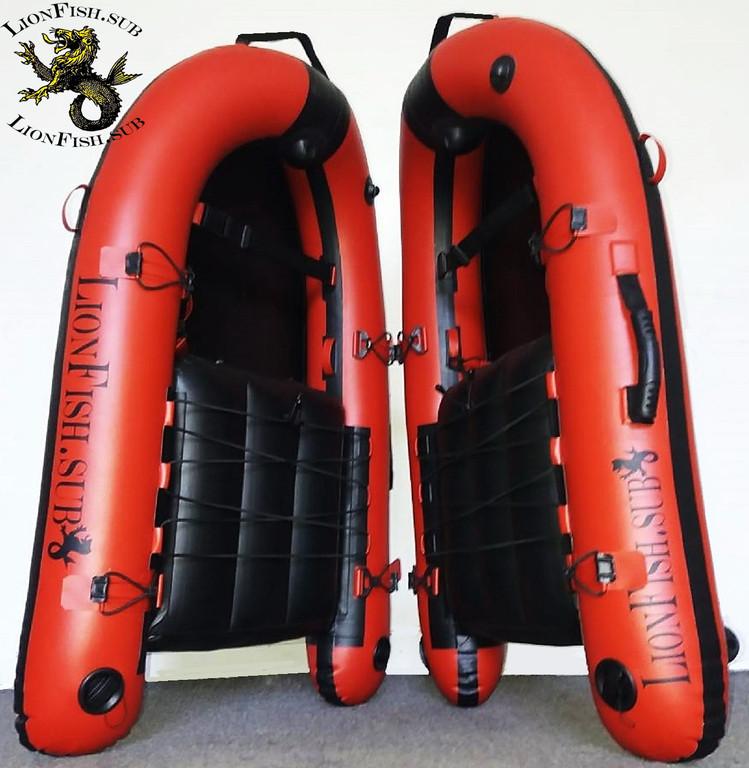 Купить Буй Плот LionFish.sub (120см) для Подводной Охоты, Дайвинга и Фридайвинга