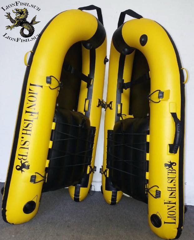 Купить в Украине Буй Плот LionFish.sub для Подводной Охоты, Дайвинга и Фридайвинга. ПВХ/120см.