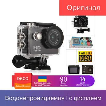 ACTION CAMERA D600 - экшн камера 1920x1080, FULL HD A7 Sport+ (1541-01)