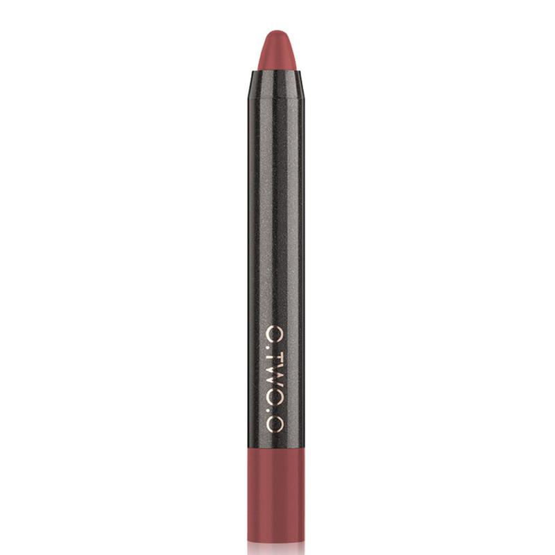 Матовый карандаш-помада для губ O.TWO.O Lip Liner Kit Velvet Lipstick Pen, 12, 1.5 г