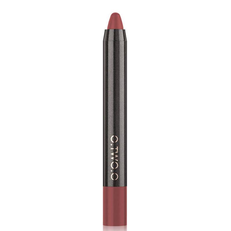 Матовый карандаш-помада для губ O.TWO.O Lip Liner Kit Velvet Lipstick Pen, 12, 1.5 г, фото 2