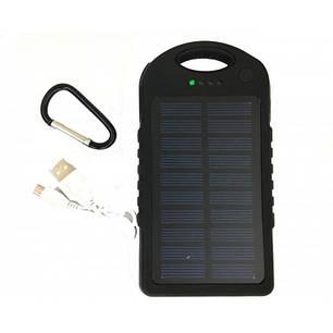Power Bank Solar 45000 mAh на солнечной батареи Черный, фото 2