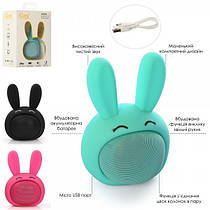 Детская Bluetooth колонка  - зайчик, множество функций, MB-M815